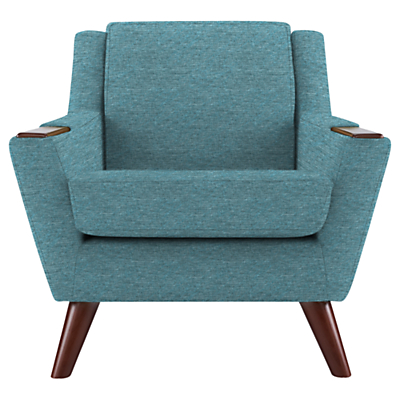 G Plan Vintage The Fifty Five Armchair, Fleck blue