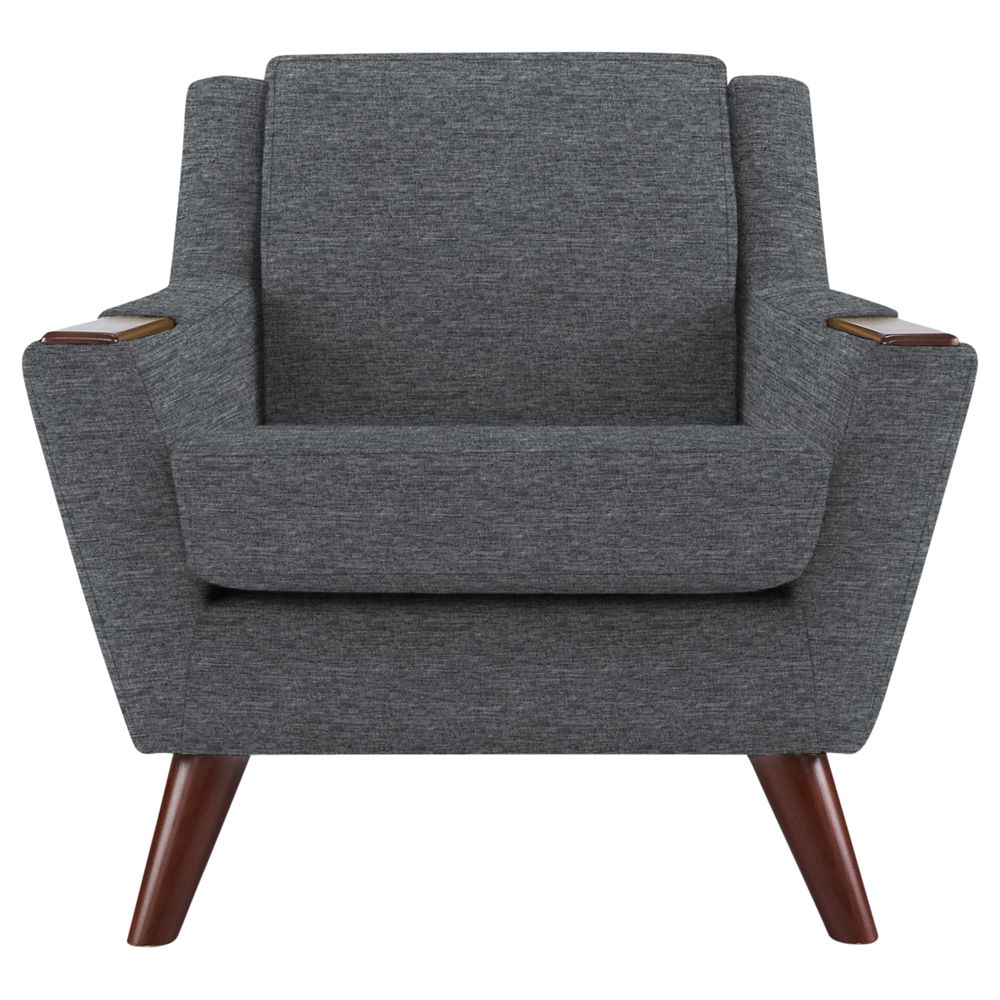 G Plan Vintage The Fifty Five Armchair, Fleck Pewter