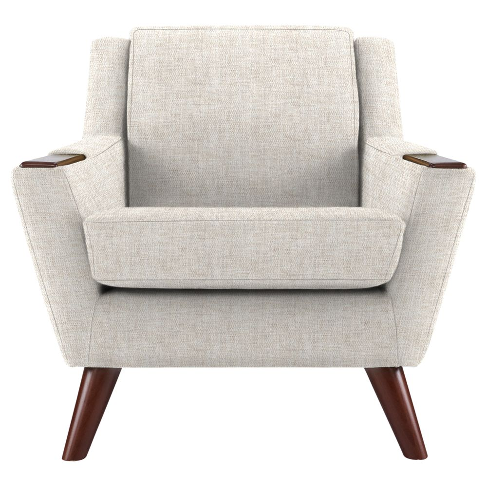 G Plan Vintage The Fifty Five Armchair, Marl Cream