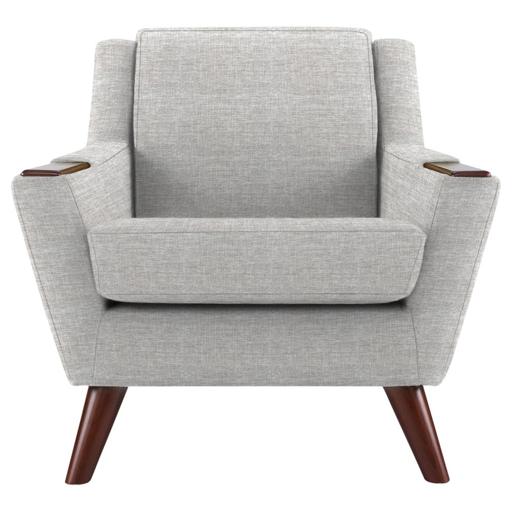 G Plan Vintage The Fifty Five Armchair, Marl Grey