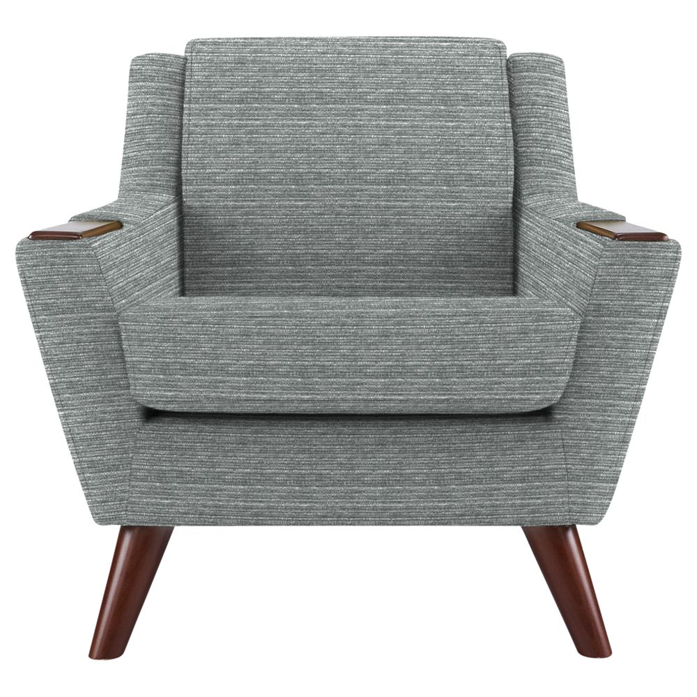 G Plan Vintage The Fifty Five Armchair, Streak Grey