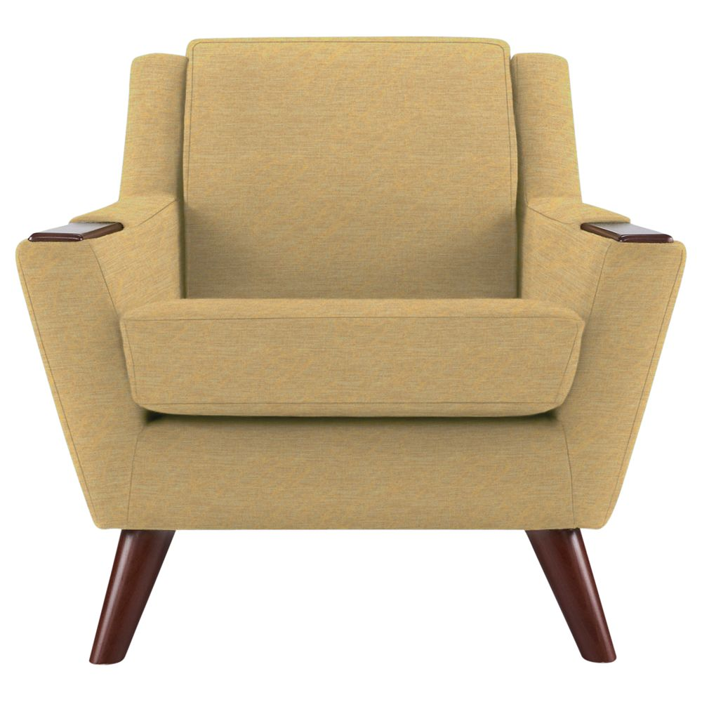 G Plan Vintage The Fifty Five Armchair, Tonic Mustard