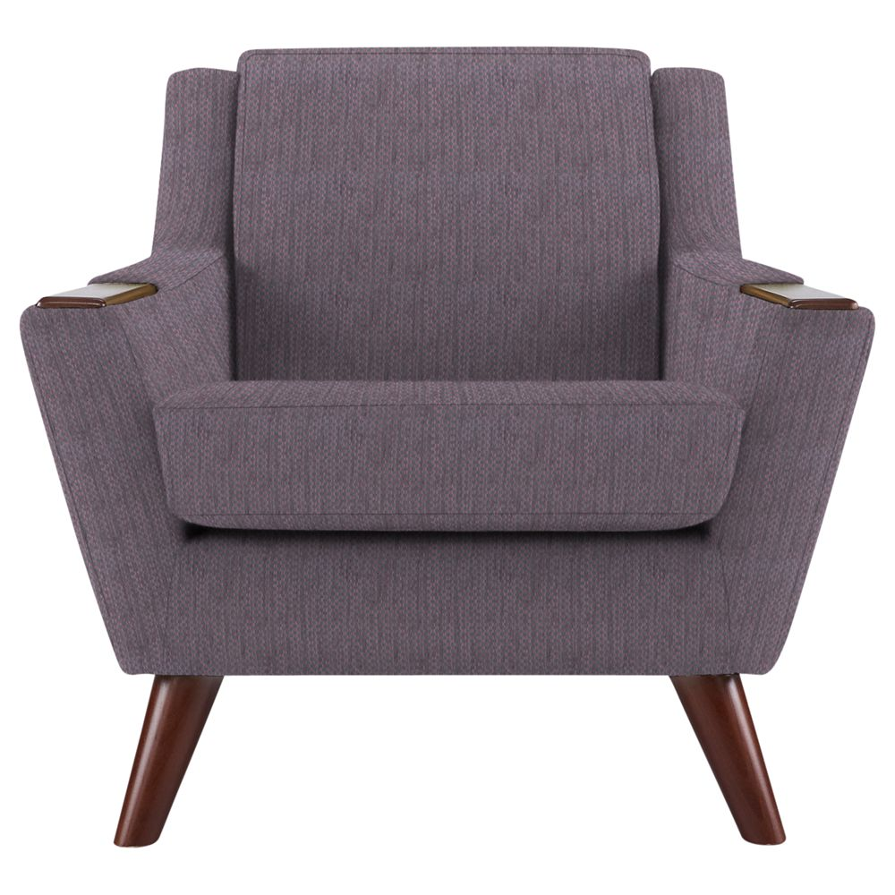 G Plan Vintage The Fifty Five Armchair, Weave Plum