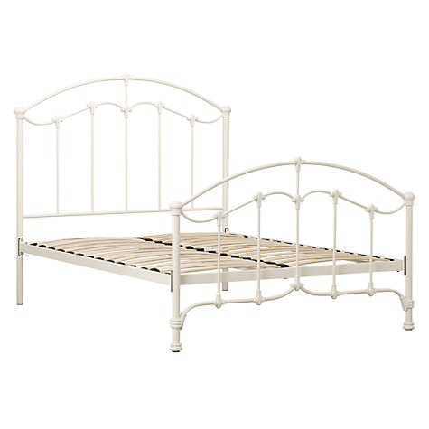 Buy John Lewis Daisy Bedstead, Cream, Double Online at johnlewis.com
