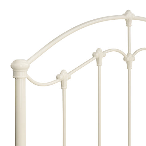 Buy John Lewis Daisy Bedstead, Cream, Kingsize Online at johnlewis.com