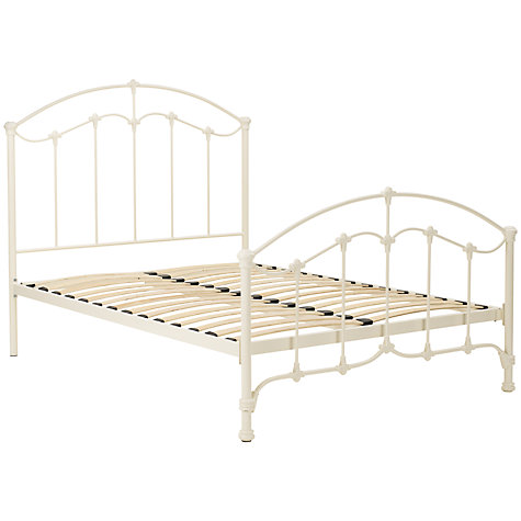 Buy John Lewis Daisy Bed Frame, Cream, King Size Online at johnlewis.com