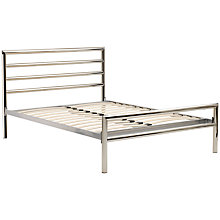 Buy John Lewis Jupiter Bedstead, Chrome, Kingsize Online at johnlewis.com