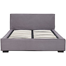 Buy John Lewis Odyssey Bedstead, Grey, Kingsize Online at johnlewis.com
