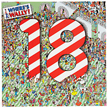 Buy Woodmansterne Where's Wally 18th Birthday Card Online at johnlewis.com