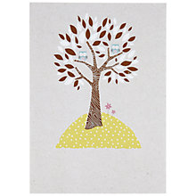 Buy Paperlink Owls and Tree Greeting Card Online at johnlewis.com