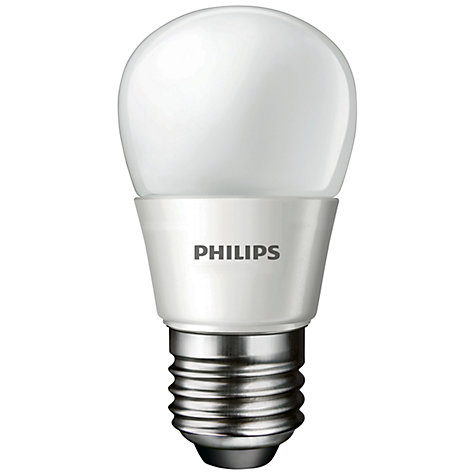 Buy Philips 4W ES LED Energy Saving Golfball Bulb, Opal Online at johnlewis.com