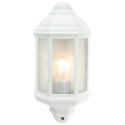 John Lewis Harris Outdoor PIR Sensor Half Lantern