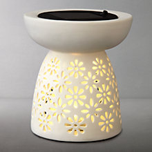 Buy Luxform Laureles Ceramic Solar Table Light Online at johnlewis.com