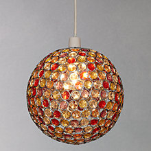 Buy John Lewis Easy-to-fit Lustre Shade, Multi, Dia.25cm Online at johnlewis.com