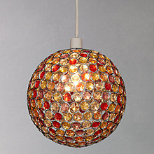 Buy John Lewis Easy-to-fit Lustre Shade, Multi, Dia.30cm Online at johnlewis.com