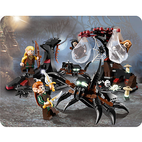 Buy LEGO The Hobbit, Escape From Mirkwood Spiders Set Online at johnlewis.com