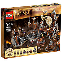 Buy Lego The Hobbit, The Goblin King Battle Set Online at johnlewis.com