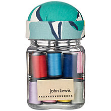 Buy John Lewis Painterly Thread Jar Online at johnlewis.com