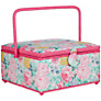John Lewis Idyllic Sewing Basket, Square