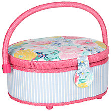 Buy John Lewis Idyllic Oval Sewing Basket Online at johnlewis.com