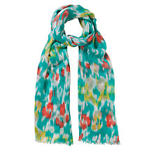Buy John Lewis Blurred Floral Scarf Online at johnlewis.com