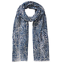 Buy John Lewis Croc Print Scarf Online at johnlewis.com