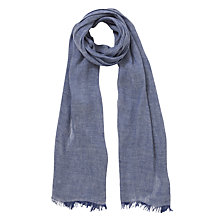 Buy Collection WEEKEND by John Lewis Linen and Viscose Cross Dye Scarf Online at johnlewis.com