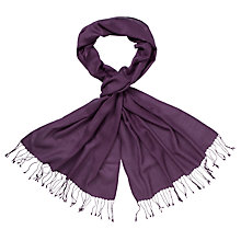Buy John Lewis Wool Mix Wrap Scarf Online at johnlewis.com