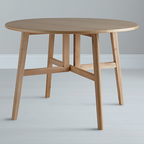 Buy John Lewis Camberley Round 4 Seater Gateleg Dining Table Online at johnlewis.com