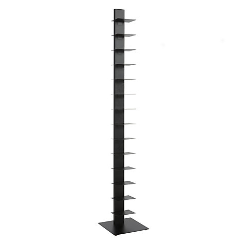 Buy House by John Lewis Sapiens Bookcase, Black Online at johnlewis.com