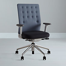 Buy Vitra ID Trim Office Chair, Aqua Online at johnlewis.com