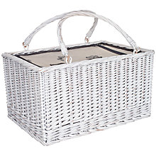 Buy John Lewis Botanist Insulated Wicker Hamper Online at johnlewis.com