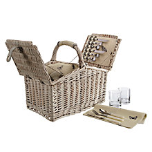 Buy John Lewis Botanist Filled Hamper, 4 Person Online at johnlewis.com