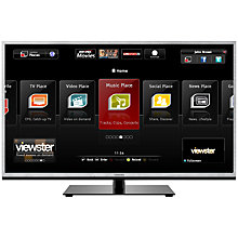Buy Toshiba 46TL968B LED HD 1080p 3D Smart TV, 46 Inch, WiDi with Freeview/Freesat HD Online at johnlewis.com