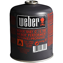 Buy Weber Portable Barbecue Gas Bottle, 445g Online at johnlewis.com