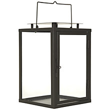 Buy John Lewis Soho Lantern, Charcoal Online at johnlewis.com