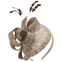 Buy John Lewis Small Fascinator, Natural Online at johnlewis.com