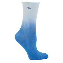 Buy Calvin Klein Dip Dye Roll Ankle Socks Online at johnlewis.com