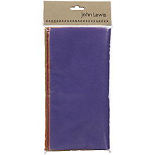 Buy John Lewis Acrylic Felt Squares, Pack of 5 Online at johnlewis.com