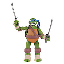 Buy Teenage Mutant Ninja Turtles Electronic Figure, Leonardo Online at johnlewis.com
