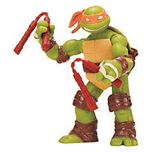 Buy Teenage Mutant Ninja Turtles Figure, Michaelangelo Online at johnlewis.com