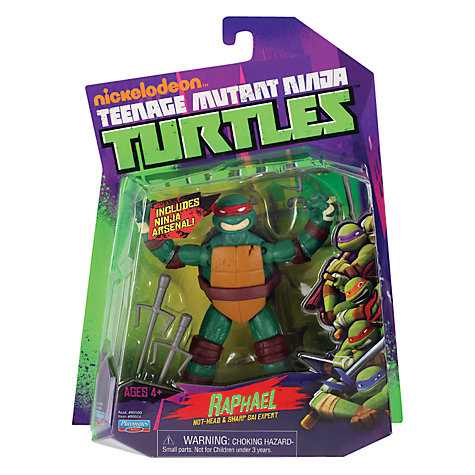 Buy Teenage Mutant Ninja Turtles Figure, Raphael Online at johnlewis.com