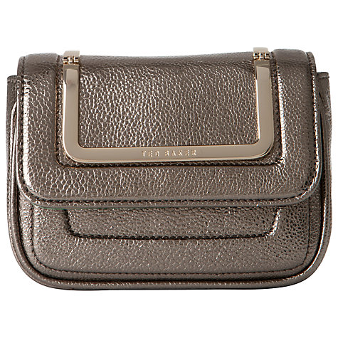 Buy Ted Baker Lusille Glitter Mini Clutch Handbag Online at johnlewis.com