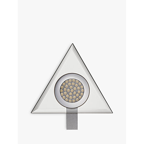 Buy John Lewis Aura LED Triangular Glass Lights, 2 Pack Online at johnlewis.com
