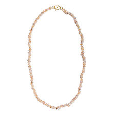 Buy Cobra & Bellamy Small Keshi Pearl Necklace, Gold Online at johnlewis.com