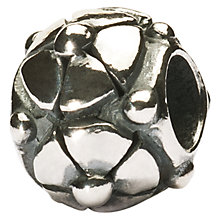 Buy Trollbeads Silver Christmas Rose Charm Bead Online at johnlewis.com