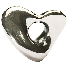 Buy Trollbeads Silver Soft Heart Charm Online at johnlewis.com