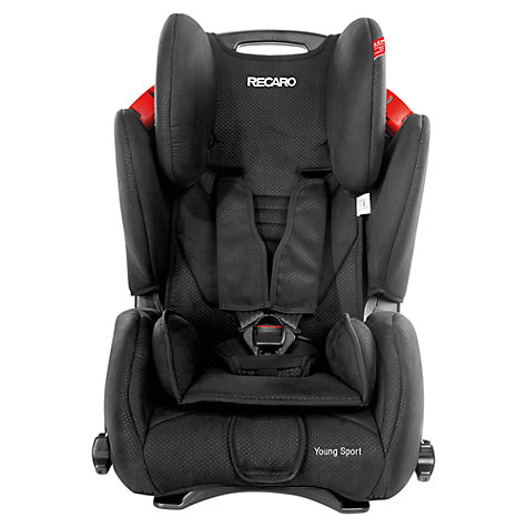 Buy Recaro Young Sport Car Seat, Black Online at johnlewis.com