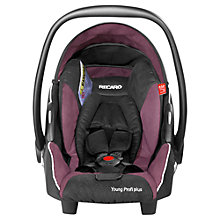 Buy Recaro Young Profi Plus Infant Carrier, Violet Online at johnlewis.com