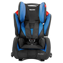 Buy Recaro Young Sport Car Seat, Black/Saphir Online at johnlewis.com